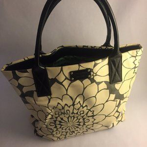 Kate Spade Tote Bag w/ Modern Floral Design